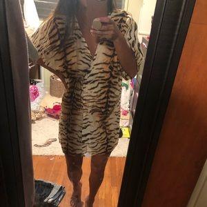 Acacia tiger kimono